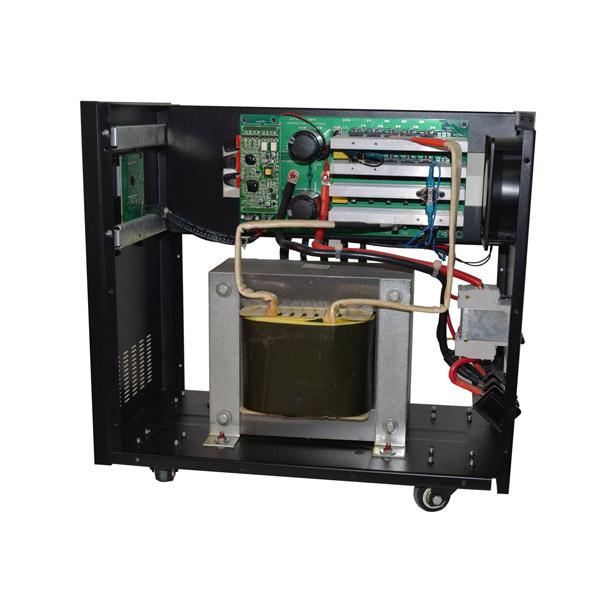 电;       ★ 优先选用市电工作,市电带动负载的同时,给电瓶智能充电
