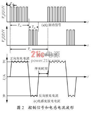 和电感lp 组成一个buck 电路,对电池进行充电,充电电流为ibc,其大小由