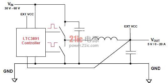 基于电流非隔离降压转换器设计使用的egan fets