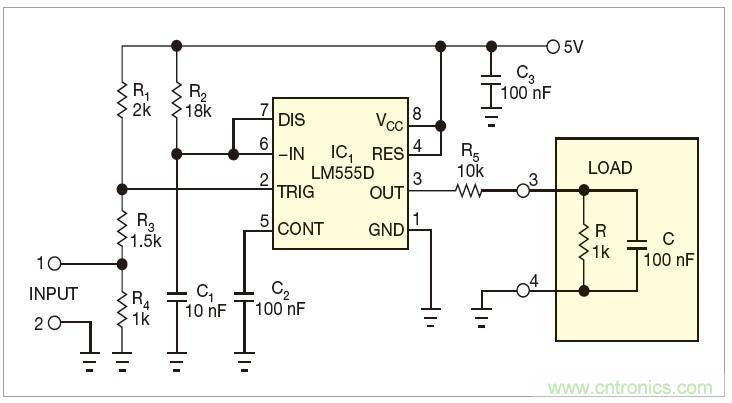 单电源转换为双电源的电路