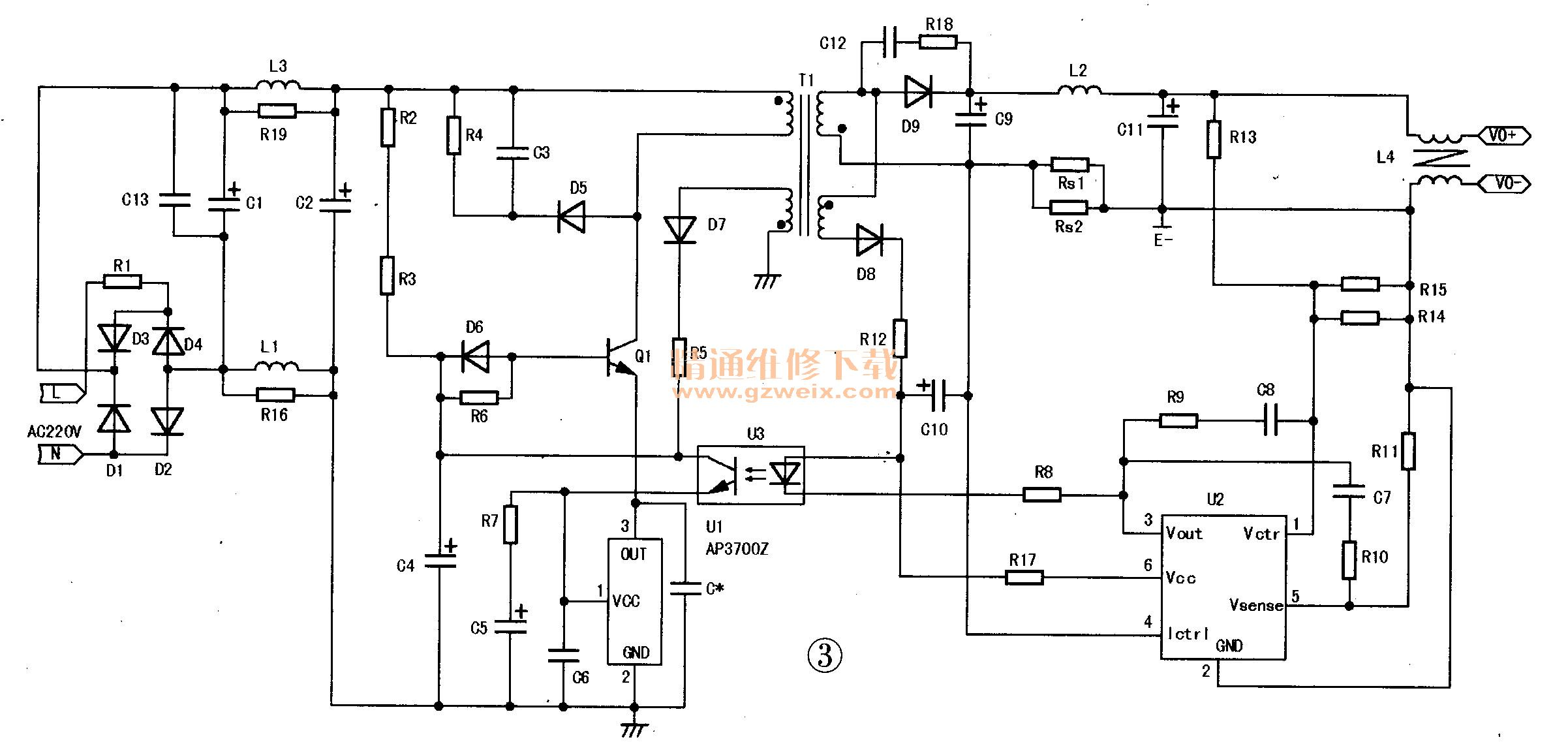 ap3700z发射极驱动方式电流型pwm控制器